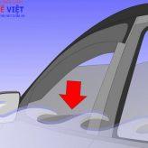 Vì sao phải mở cửa sổ xe hơi trước khi mở máy lạnh